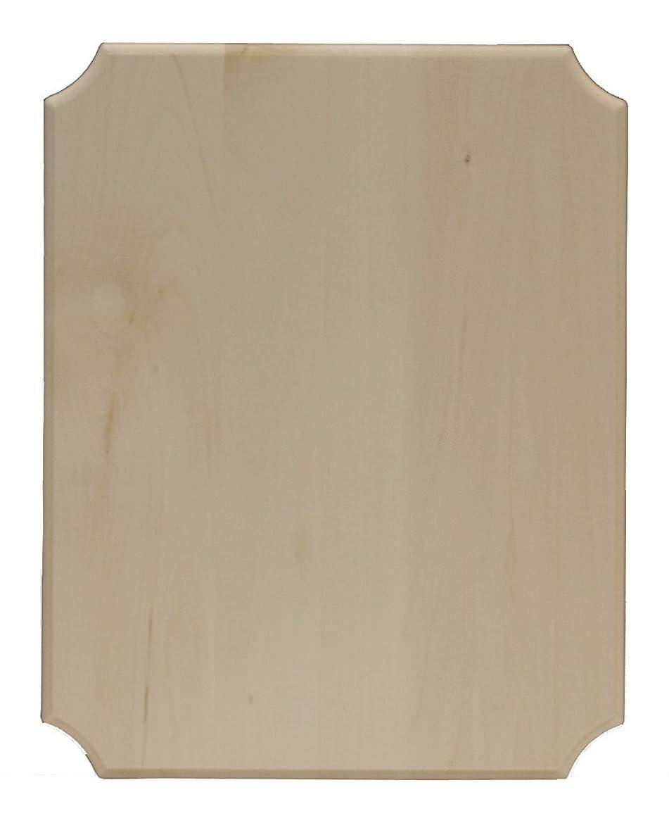 Walnut Hollow 18412 French Corner Basswood 12 x 16 Wood Plaque,