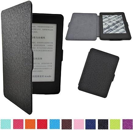 Capa para Kindle Paperwhite - Rígida - Várias Cores (Preto)