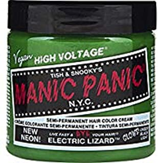 Manic Panic Electric Lizard Neon Green Hair Dye