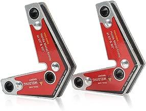 LISHUAI Strong Welding Corner Magnet,Neodymium Magnetic Holder Twin Pack