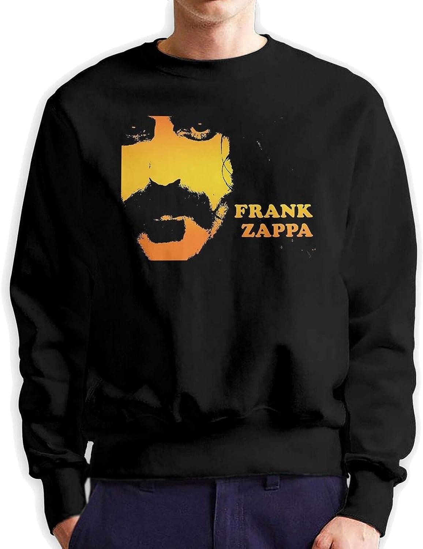 Frank Zappa Men'S Long Sleeve Printed Sportswear Cotton Black