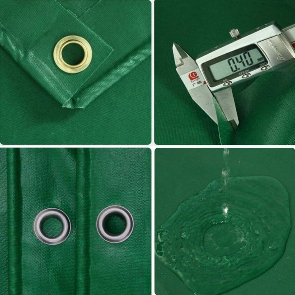 Reinforced Mesh Clear Waterproof Tarpaulin Heavy Duty Cover tent ground sheet