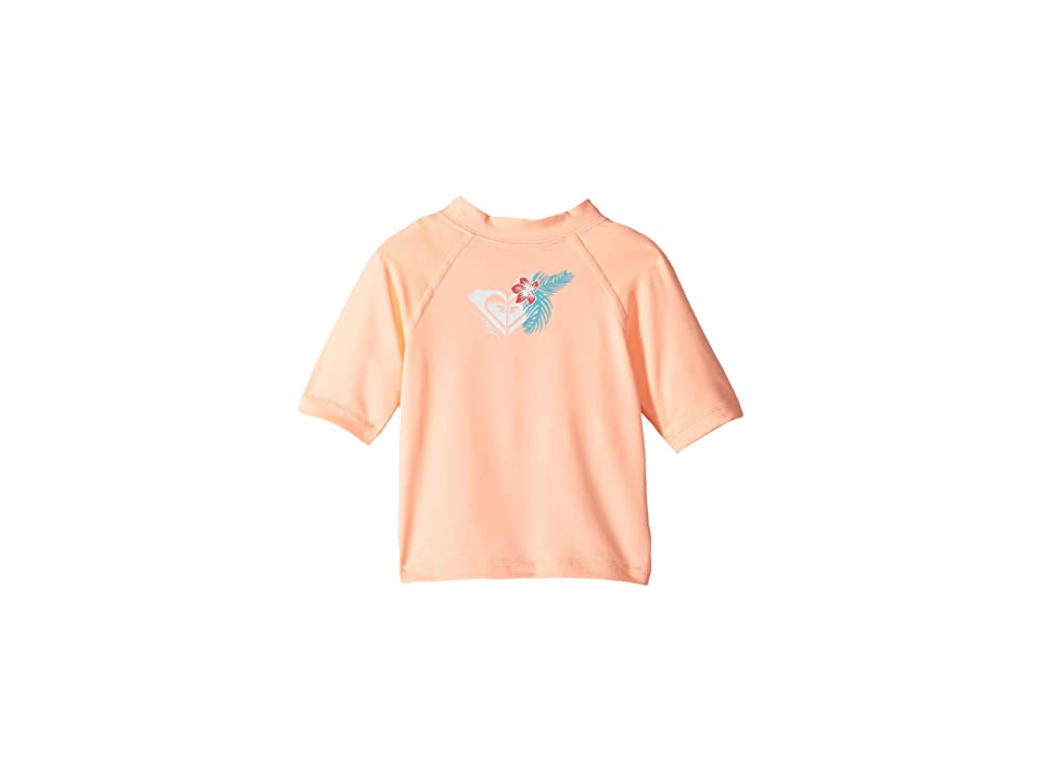 Roxy Kids Hawaii Short Sleeve Rashguard (Big Kids) (Souffle) Girl