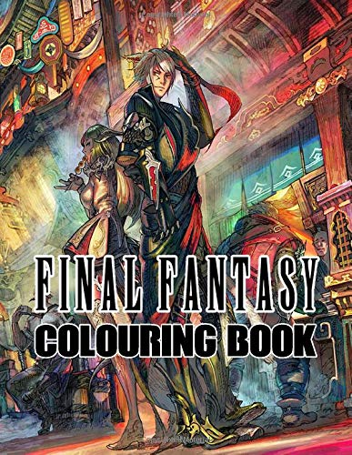 Final Fantasy Colouring Book: Live in the world of Final Fantasy, bring all the favorite characters to life