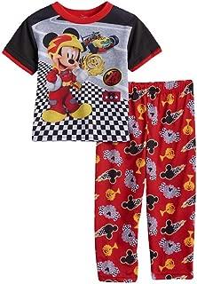 EnzoCreative Disney Toddler Pajamas 2 pcs Set Mickey Mouse Clothing