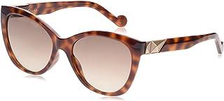 ليو جو نظارة شمسية للنساء ، رمادي ، LJ693S 215 5517