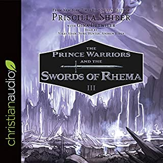 The Prince Warriors and the Swords of Rhema audiobook cover art