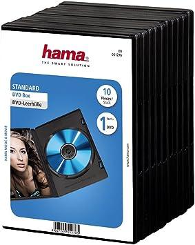Hama Dvd Hüllen 10er Pack Schwarz Computer Zubehör