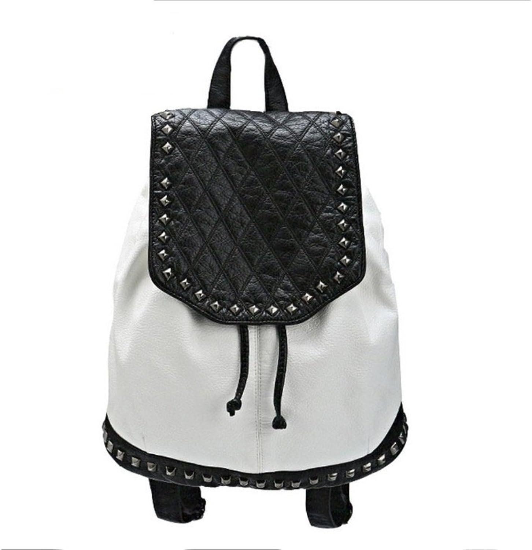 HIFISH HB125295 PU Leather Korean Style Women's Handbag,Soft Backpack