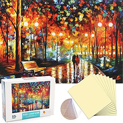 ENYACOS Puzzle 1000 Teile mit Puzzle Kleber Folie Transparent,PuzzleErwachsene,Klassische Puzzles 1000 Teile,Puzzle für Erwachsene und Kinder ab 14 Jahren,Geschicklichkeitsspiel Erwachsene.