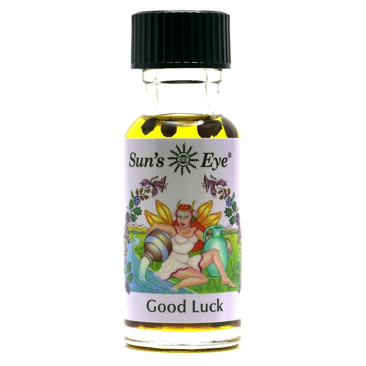 正気静脈スケッチ【Sun'sEye サンズアイ】Mystic Blends(ミスティックブレンドオイル)Good Luck(グッドラック 幸運)