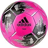 Adidas Team Glider Ballon de football 5 solar pink/black/silver metallic,solar pink/black/silver metallicsolar pink/black/silver metallic,5