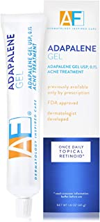 Acne Free Adapalene Gel 0.1%, Once-Daily Topical Retinoid Acne Treatment, 45 Gram, 90 Day Supply