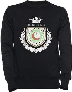 New Lunar Republic Eternal Night Hombre Mujer Unisexo Sudadera Jersey Negro Todos Los Tamaños - Women's Men's Unisex Sweatshirt Jumper Black