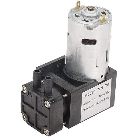 BiuZi 1Pc DC 12V Mini bomba de inflado de alto flujo de aire El/éctrico Micro DC Bomba de vac/ío para instrumentos de tratamiento m/édico Bomba de vac/ío