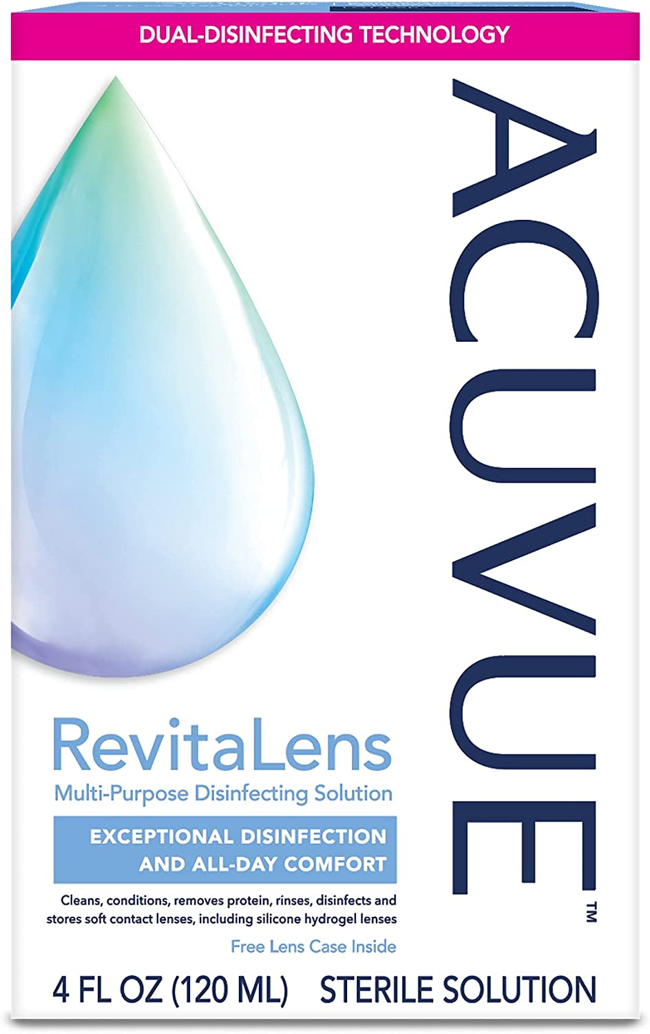 ACUVUE® RevitaLens Multi-Purpose Disinfecting oz. Cheap mail order shopping Boston Mall 4 Solution