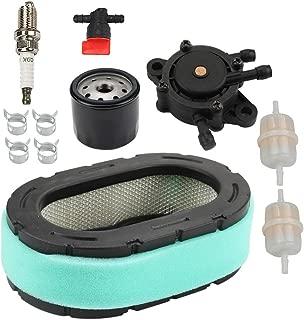 Allong KT735 Air Filter Oil Fuel Filter Pump Spark Plug Tune-Up Kit for Kohler KT610 KT620 KT715 KT725 KT730 KT740 KT745 19HP-26HP 7000 Series Engine 32 083 09 32 883 09-S1