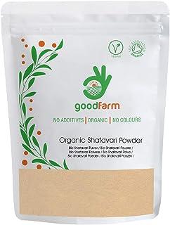 GoodFarm Shatavari Poudre Biologique 500g - Qualité Premium, Certifié Biologique   Superfood   Herbe adaptogène   Vegan   ...