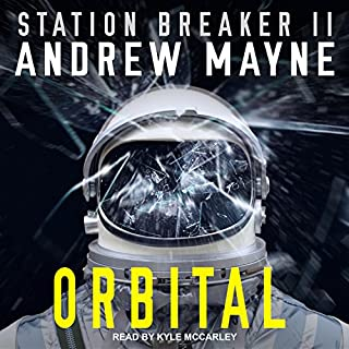 Orbital audiobook cover art