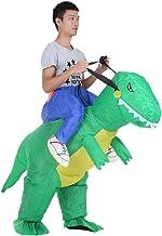 Anself - Disfraz Inflable de Dinosaurio para Fiesta/