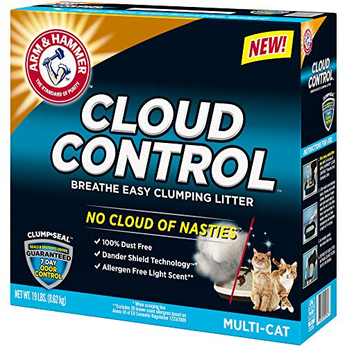 Price comparison product image ARM & HAMMER CLUMP & SEAL MULTIPLE CAT CLUMPNG LIGHT SCENT ODOR CONTROL BOX 19 LB - 0033200001841