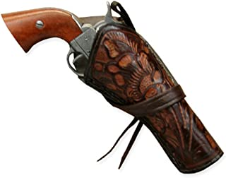 double cross draw western holster