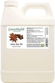 Anise Star Essential Oil - 32 fl oz (946 ml) Plastic Jug w/Cap - 100% Pure Essential Oil - GreenHealth