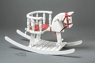 Christmas Rocking Horse - Pure Diamond - Wooden Horse - Best Christmas Gift - Wooden rocking horse - Baby Shower gift - 1s Birthday Gift