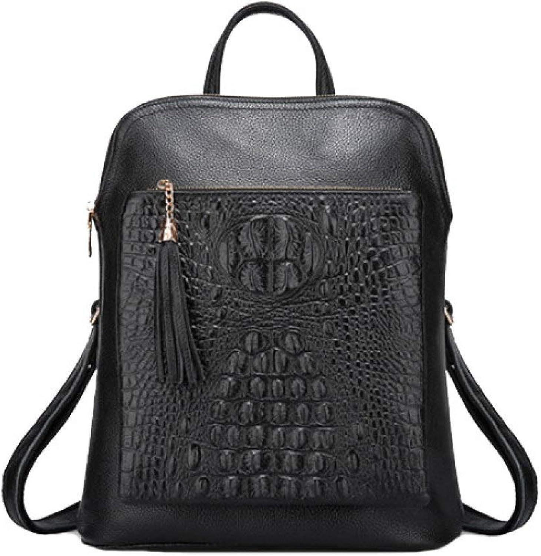 Persönlichkeit Einfache Rucksack Mode Multifunktions Umhängetasche Casual Wild Damen Handtasche B07HRPK6QK