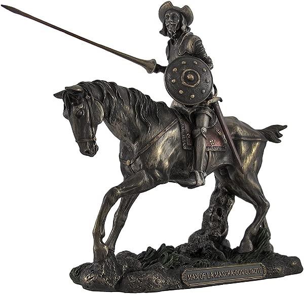 维罗纳的堂吉诃德骑骏骑枪图