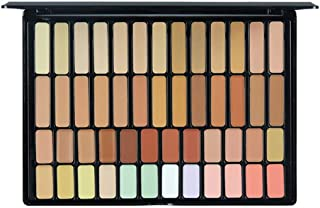 FantasyDay Pro 50 Colors Cream Concealer Camouflage Makeup Palette Contouring Kit - Ideal for Professional and Daily Use
