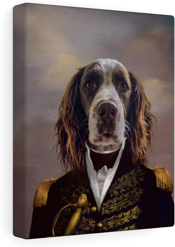 Fur Art Love- Custom Pet Portrait Style Recommendation on Courier shipping free shipping Canvas T Renaissance