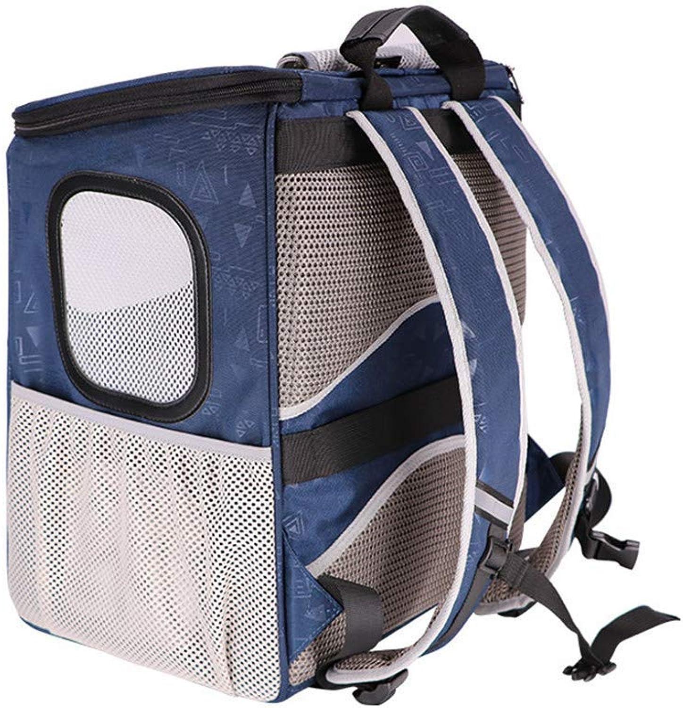DNDZSW Backpack pet backpack dog car dualuse pet bag summer breathable bag