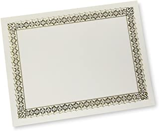 Gartner Gold Foil Certificate, 15 Count (36004-S)