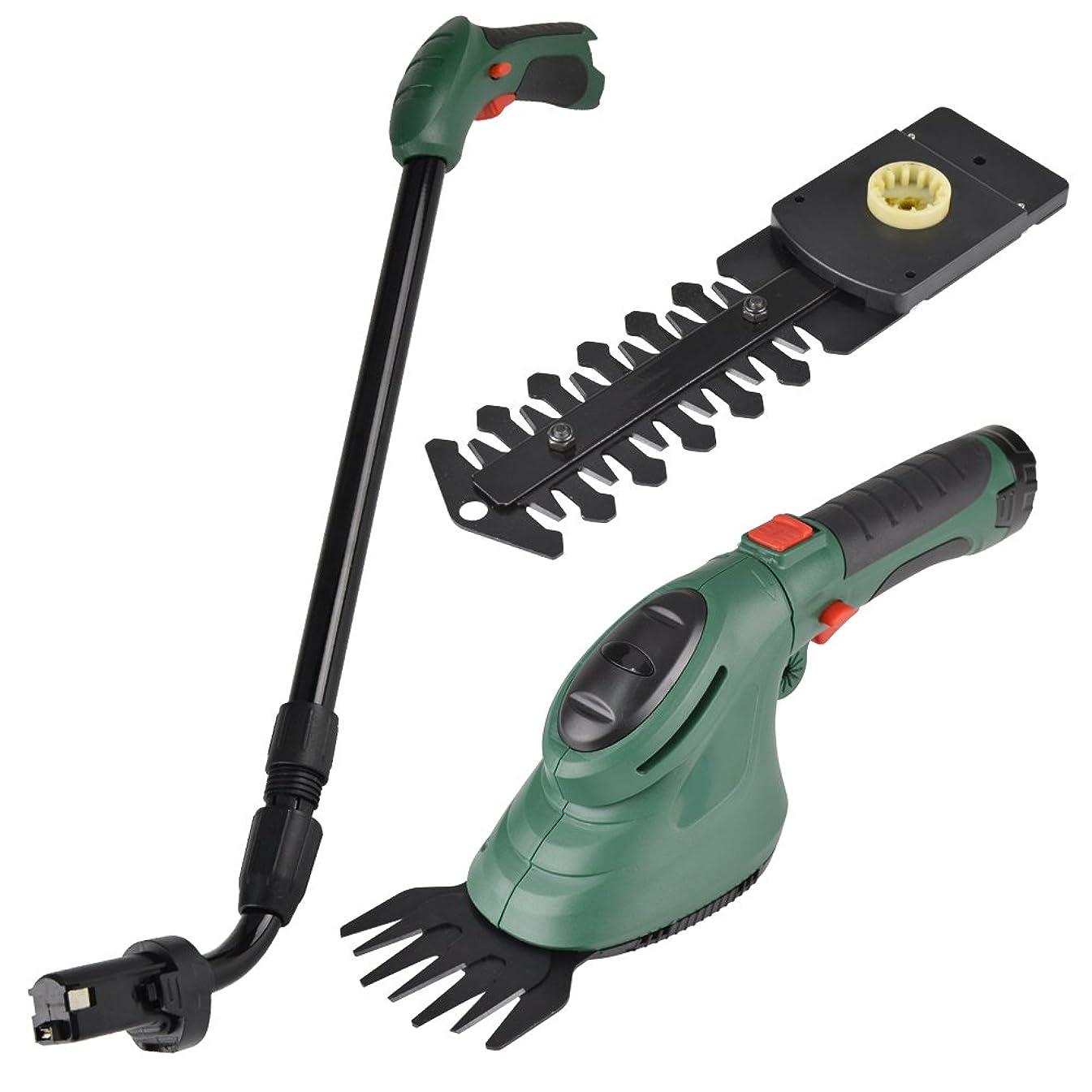 芝刈り機 芝刈機 3-WAYコードレス芝刈り機 1台 充電式 バリカン トリマー 電動 家庭用 小型 草刈機 植木