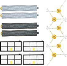 Goolsky Pack of 14 Replacement Accessories Kit for iRobot Roomba 800 & 900 Series 805 860 861 864 866 870 880 890 891 894 ...