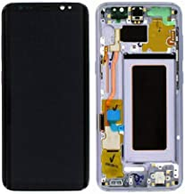 Con pantalla de marco y kit de digitalizador de tapa de batería para Samsung S8 Pantalla LCD Reemplazo de digitalizador de pantalla táctil