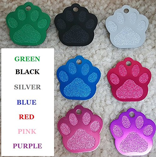Dr. Fremont's Pet ID Tag Custom for Dog Cat Personalized | Many Shapes and Colors to Choose from | Made in USA | Strong Anodized Aluminum Maine