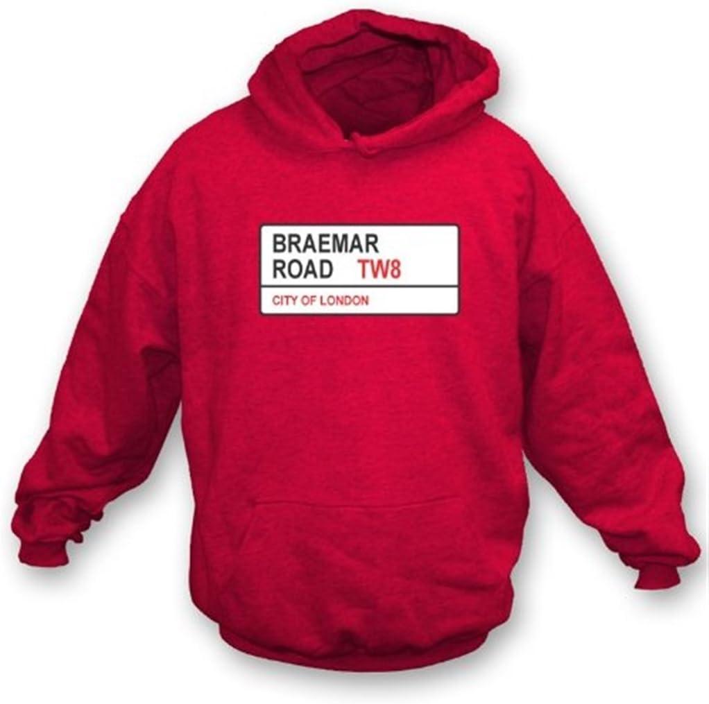 Braemar Now free shipping Road TW8 Latest item Sweatshirt Hooded Brentford