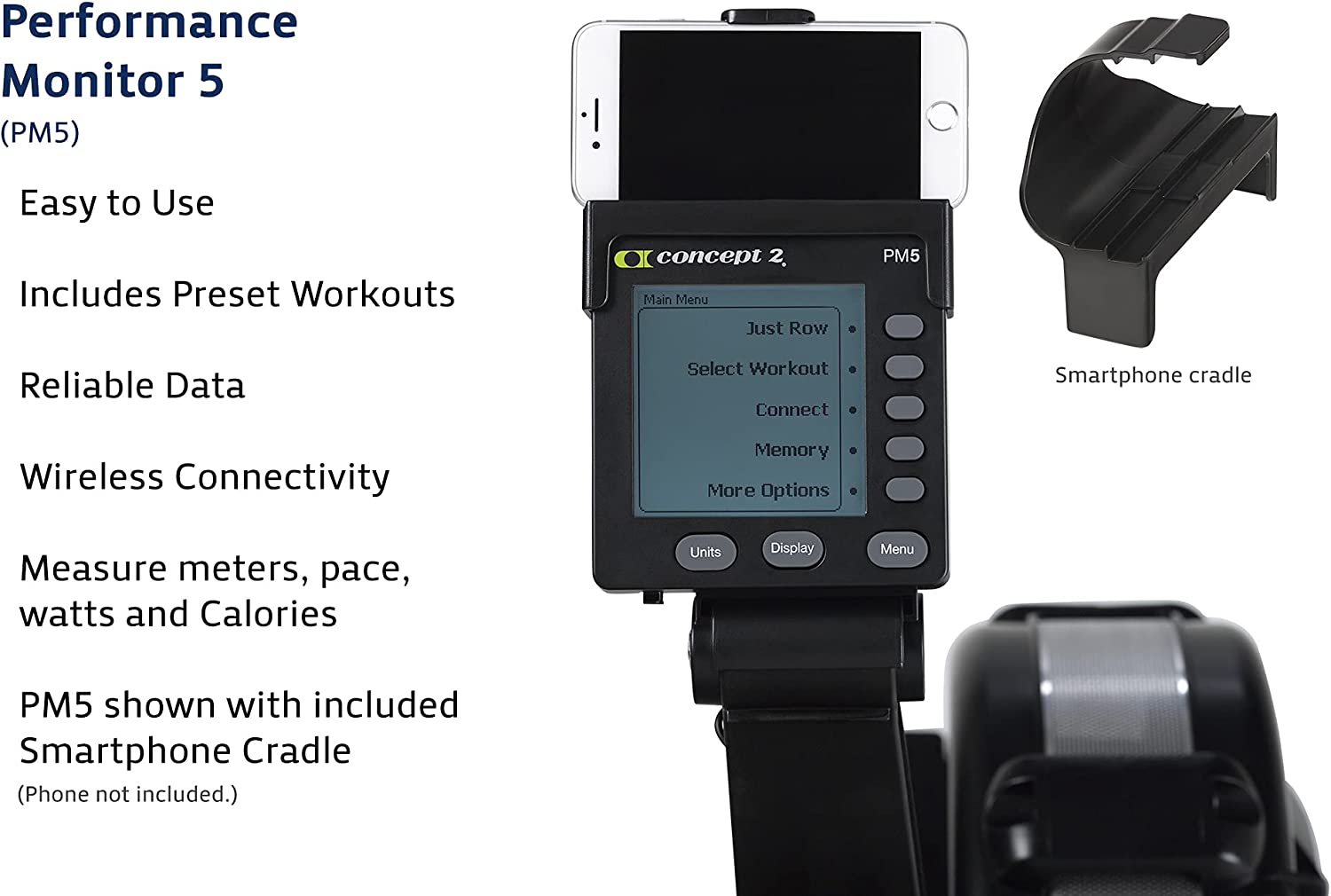 Concept2 Performance Monitor