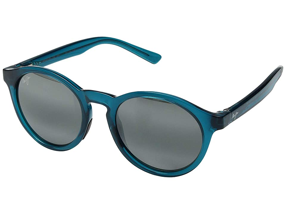 Maui Jim Pineapple (Teal Green/Neutral Grey) Athletic Performance Sport Sunglasses