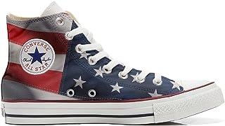 4dfae589db617 Converse All Star Hi Personnalisé et Imprimés Chaussures Coutume