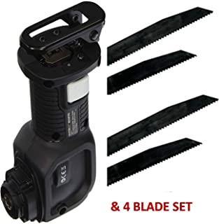 BLACK+DECKER BDCMTRS Matrix Reciprocating Saw Attachment With (4) Blade Blade SET Compatible With All Quick Connect System BLACK+DECKER (Commercial Bulk Packaging)