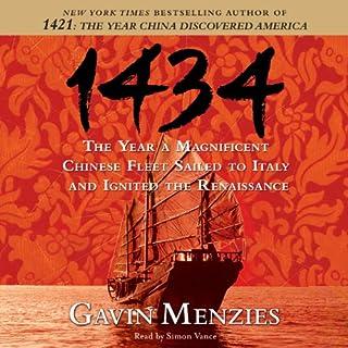 1434 audiobook cover art