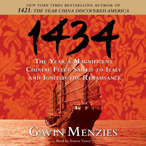 1434 audiobook cover art