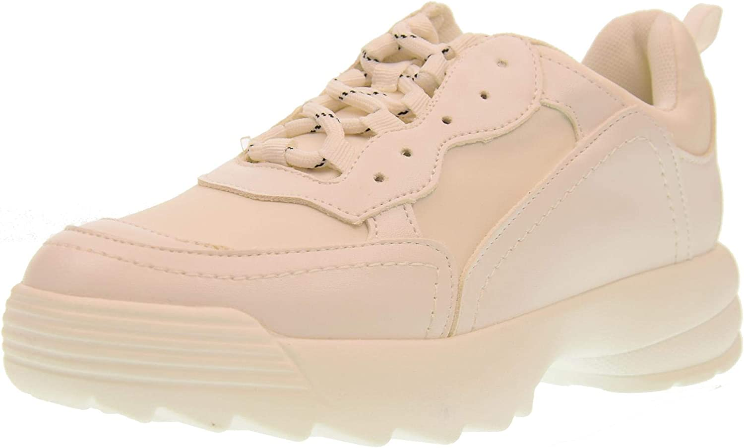 gold&gold shoes Woman Low Sneakers with Platform gt531 Bianco