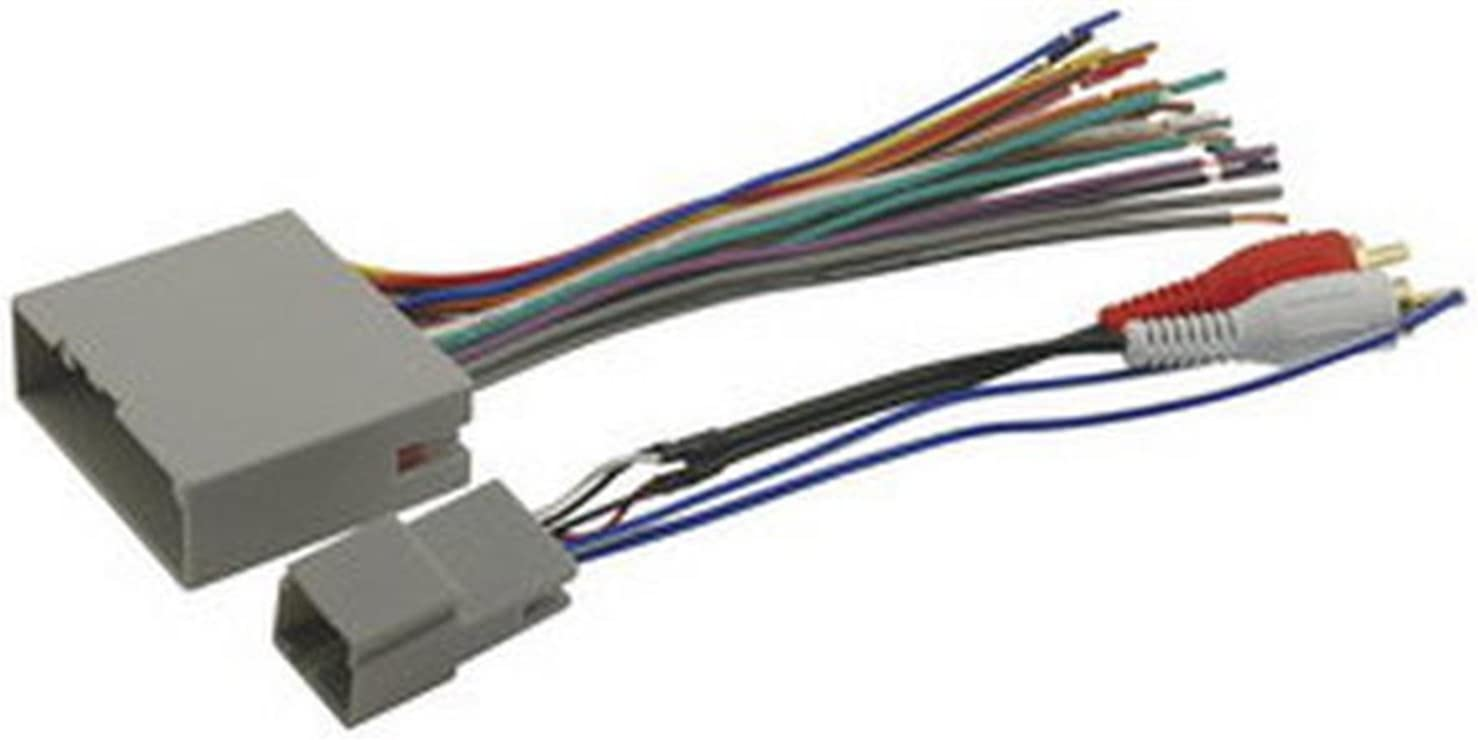 Amazon.com: SCOSCHE FDK11B Car Power/Speaker and RCA to Sub Amp Input  Connectors Wire Harnesses for 2003-08 Ford Premium Sound or Audiophile: Car  ElectronicsAmazon.com