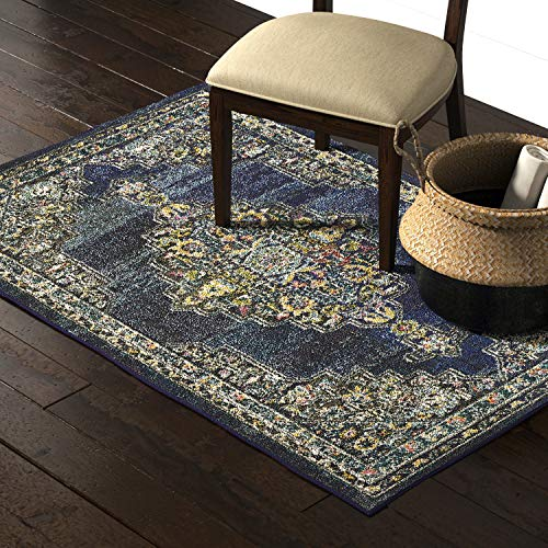 Marca de Amazon - Movian Arda, alfombra rectangular, 180,3 de largo x 119,4 cm de ancho (diseño geométrico)