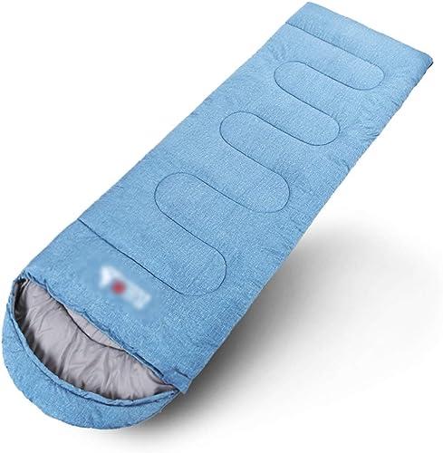 Sac de couchage RKY Sac de couchage - 210T Chun Yafang, sac de couchage double pour épissure amovible et lavable pour adulte, camping intérieur et extérieur, convient à  le tourisme, l'escalade, les a