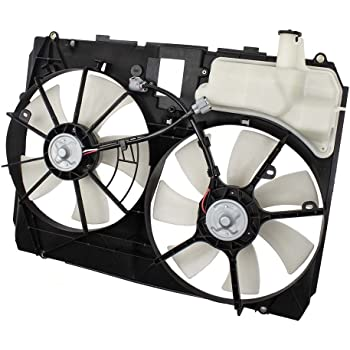 Radiator Fan Assembly for SIENNA 04-05 Dual Type
